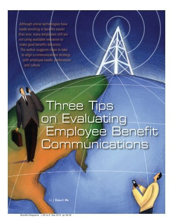 Three Tips on Evaluating Employee Benefit Communications