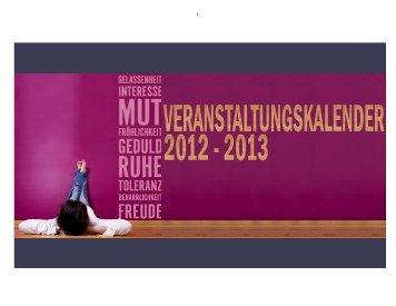 Download Veranstaltungskalender (PDF) - Einwohnergemeinde ...