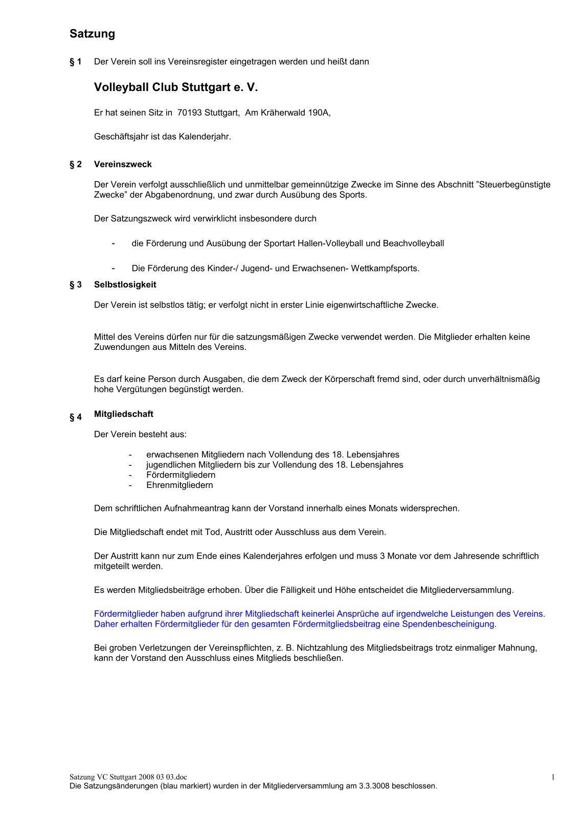 Ungewöhnlich Satzung Vorlage Galerie - Entry Level Resume Vorlagen ...