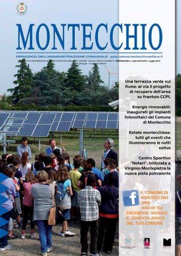 Notiziario Giugno - Comune di Montecchio Emilia