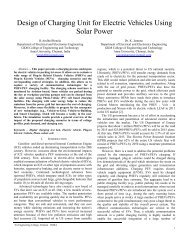 Design of Charging Unit for Electric Vehicles Using Solar Power