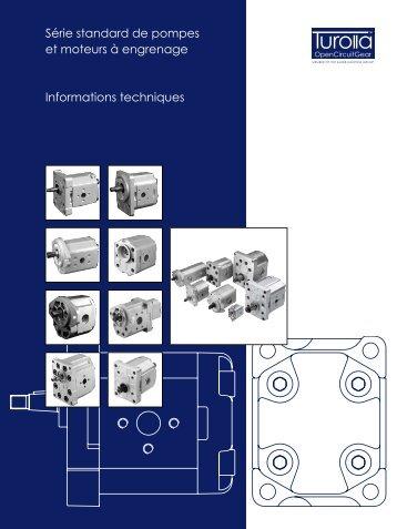 Série standard de pompes et moteurs à engrenage ... - Sauer-Danfoss