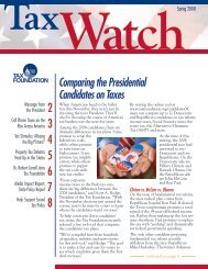Comparing the Presidential Candidates on Taxes - Tax Foundation