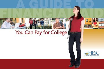 HESC Guide to Financial Aid - Eastchester High School