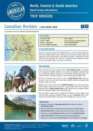 Canadian Rockies 9 DaY hotel tour - Adventure Holidays & Activity ...