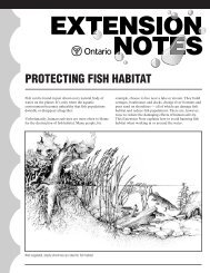 Protecting Fish Habitat (369 KB) - Credit Valley Conservation