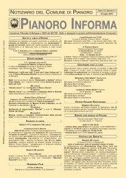 Anno 2010 n. 4 - Comune di Pianoro