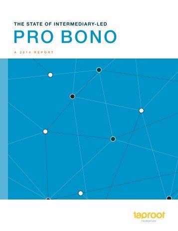 State-of-Intermediary-Led-Pro-Bono-Report.Summit-2014