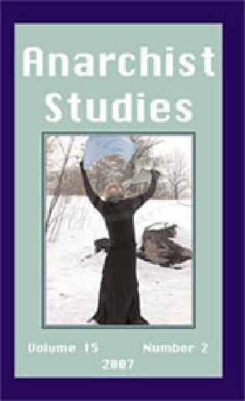 Anarchist Studies - 15-2.pdf - Zine Library