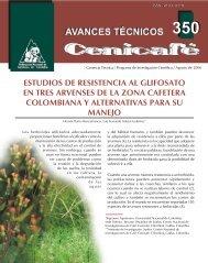 estudios de resistencia al glifosato en tres arvenses de la zona ...