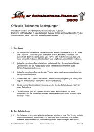 Offizielle Teilnahme Bedingungen