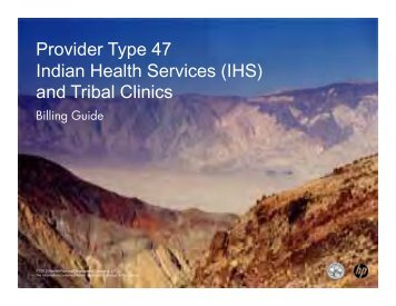 Provider Type 47 Indian Health Services - Nevada Medicaid and ...