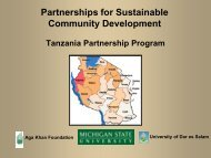 Sustained Community Development (PDF) - International Studies ...