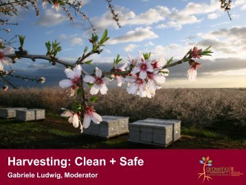 Harvesting: Clean + Safe - Almond Board of California