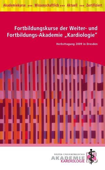 Fortbildungskurse der Weiter- und Fortbildungs-Akademie ...