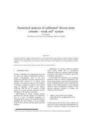 driven stone column – weak soil - Kivi Niria