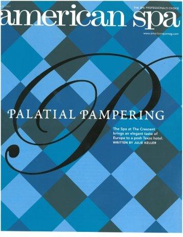 'PALATIAL 'PMPERING - Rosewood Hotels & Resorts