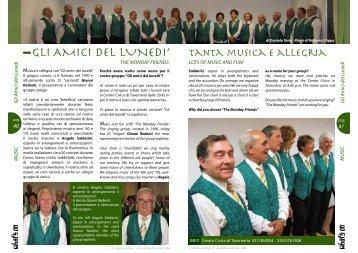GLI AMICI DEL LUNEDI' - Comosmagiclake.com