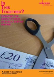 THIS TOGETHER? - Runnymede Trust