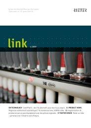 link 1 /2009 08 TECHNOLOGY Com4®twin – des fils ... - Rieter