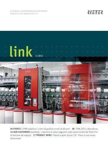link 2 /2011 04 EVENTS L'ITMA stabilisce i criteri di giudizio ... - Rieter