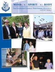 MSB Vol 6 2007.indd - Lexington Catholic High School