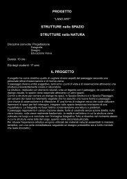 il progetto - Polo della ValBoite