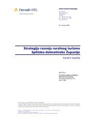 Strategija razvoja ruralnog turizma Splitsko-dalmatinske Županije