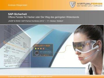SAP-Sicherheit - Virtual Forge