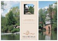 WILLKOMMEN - hotel-neumuehle.de