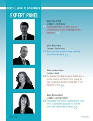 Panel Debate: Trustee Guide to Governance - Engaged Investor