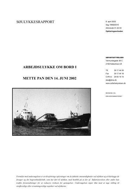 METTE PAN - Søfartsstyrelsen