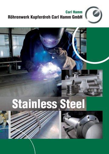 Brochure Stainless Steel - Carl-Hamm