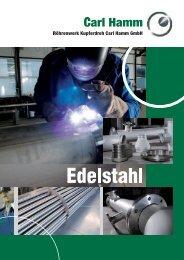 Broschüre Edelstahl - Carl-Hamm