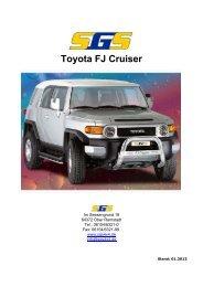 Toyota FJ Cruiser - SGS