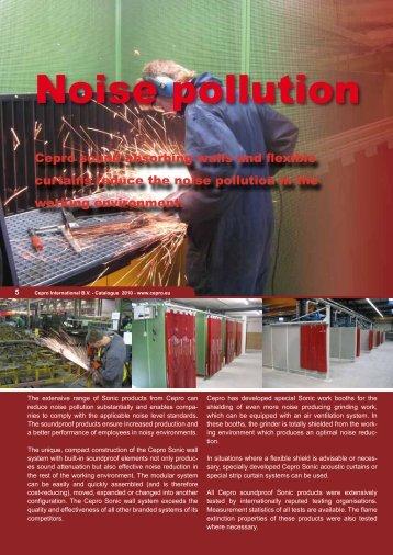 Noise pollution - Cepro
