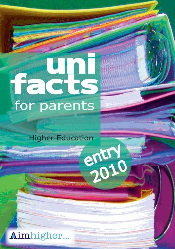 UniFACTs for parents - Calderdale and Kirklees Careers Service ...