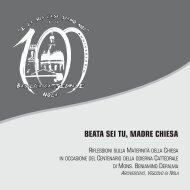 BEATA SEI TU, MADRE CHIESA - Diocesi di Nola