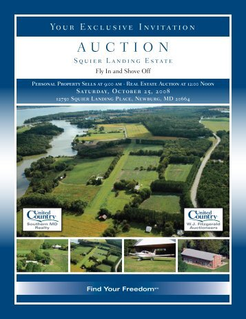 AuctIOn - United Country Real Estate