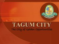 Tagum Economic Enterprise - LGRC DILG 10