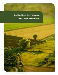 The Green Action Plan - Illinois Institute for Rural Affairs