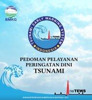 Pedoman Pelayanan Peringatan Dini Tsunami InaTEWS - GITEWS