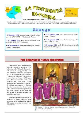 Fra Emanuele: Fra Emanuele - Frati Cappuccini Italiani