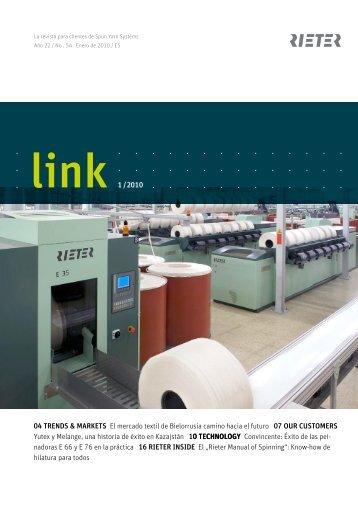 link 1 /2010 04 Trends & MArKeTs El mercado textil de ... - Rieter