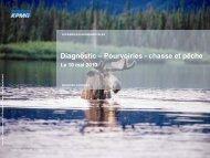 Diagnostic – Pourvoiries - chasse et pêche - Tourisme Québec