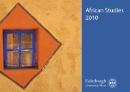 African Studies 2010 - Library