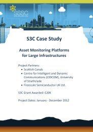 S3C Case Study - Scottish Sensor Systems Centre