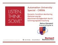 CHD06-Dynamix Condition Monitoring - Rockwell Automation