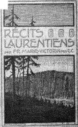 Récits Laurentiens