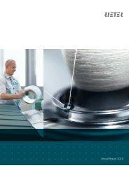 Annual Report 2010 - Rieter